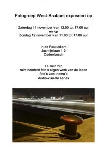 Expositie Fotogroep West Brabant